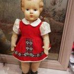 Старинная куколка, предположительно американка