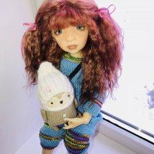 Эми и ее друг совёнок