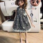 Новое платье на Птичку Лору