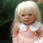 Кукла реборн Твигги из молда Салли от Regina swialkowski