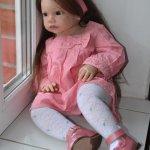 Кукла реборн из молда Габриэлла от Регины Свиалковски