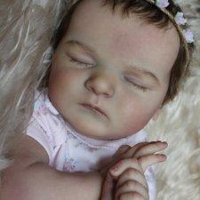 Моя малышка-реборн Нюша, Scarlett by Bonnie Brown