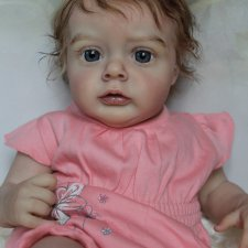 Моя малышка-реборн из молда Chloe by Natali Blick