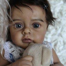 Моя малышка-реборн из молда Chloe by Natali Blick 2