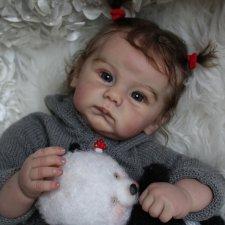 Моя малышка-реборн Ануш из молда Connolly by Andrea Arcello