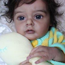 Моя малышка-реборн из молда Chloe by Natali Blick 3