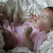 Моя нежная кукла реборн Евангелина