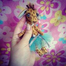 Две подружки жирафочки