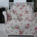 """Большое кресло """" Романтичное Лето """". Для кукол от 35 до 48 см"""