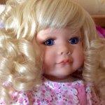 Красотка с глазами цвета лаванды! Новый образ! Волосы, локоны, кудри