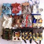 Много разных рюкзаков для 1/4 мсд бжд