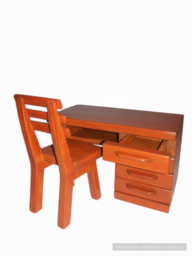 письменный стол и стул для Барби
