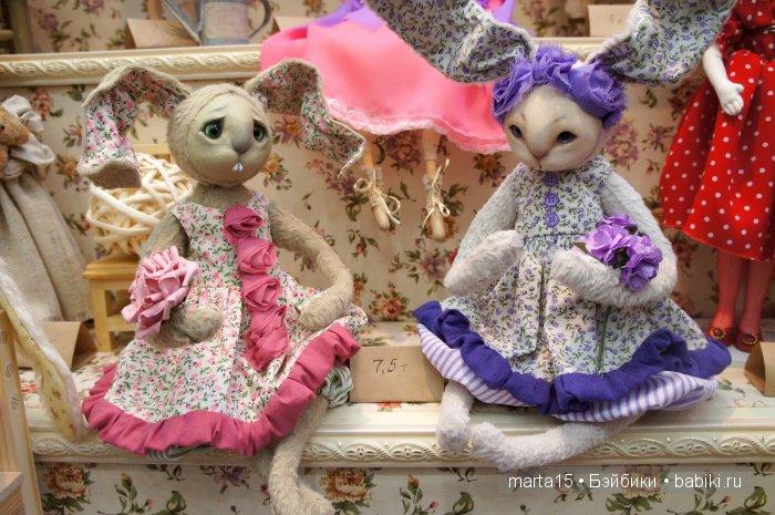 Куклы и мишки на Тишинке 2016