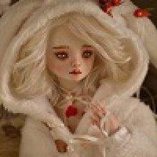 На этот раз - Зайка. Шарнирная фарфоровая кукла