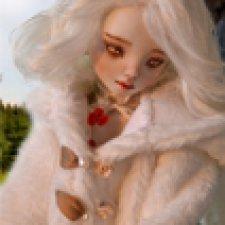 Осеннее настроение. Авторская шарнирная кукла