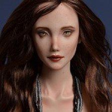 Фарфоровая шарнирная кукла Гвен от SweetTouchDoll