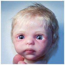 Фотографии кукол с глазками ручной работы ©Happiness Toys