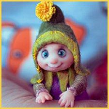 Гномик Марик. Мини кукла