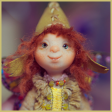 Фей Руни авторская мини кукла