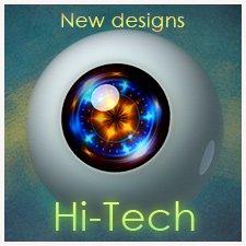 Новые дизайны Hi-Tech для кукольных глаз