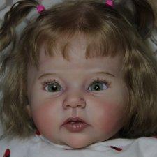 Куколка реборн из молдика Равен