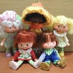 Сладкие ягодки - девчушки Strawberry Shortcake