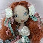 Авторская кукла из ткани Любаша