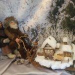 Тянем-потянем (старики и деревня, куклы)