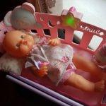 Кукла Famosa Nenuco с кроваткой