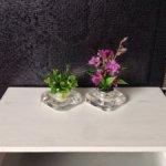 Букеты и композиции из цветов и комнатных растений для кукольного интерьера