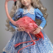 Мастер-класс по созданию куклы из пластика (Каргапольцева Наталья)