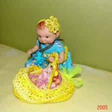 Златочка-авторская кукла от Юлии Горшковой
