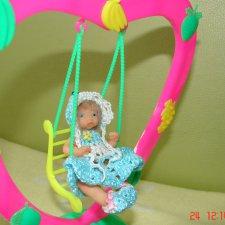 Молли - авторская мини кукла Ланы