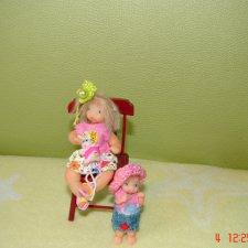 Мои малышата, мини куклы ручной работы