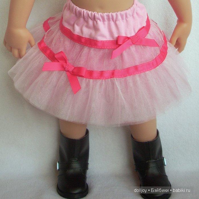 Юбка пачка для куклы мастер класс 72