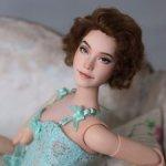 OOAK Barbie гибрид Кокетка в стиле пин-ап