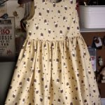 Платье с ёжиками!