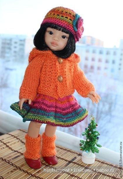 Комплект на куклу  Paola Reina.