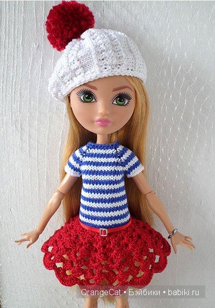 Одежда для кукол своими руками эвер афтер хай видео