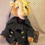 Медведь Моряк  Авторские игрушки Инны Будагян