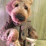 Медведь. Авторские игрушки Инны Будагян