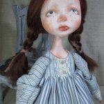 Новая девочка. Авторская  кукла