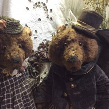 Медвежья пара, мишки тедди