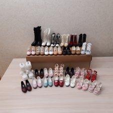 Продам много женской обуви для бжд SD. Добавила новое
