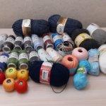 Распродаю нитки для вязания