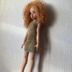 Вязанная одежда на бжд кукол