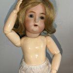Очаровательная куколка Simon & Halbig/Kammer & Reinhardt, реплика, высота 28 см