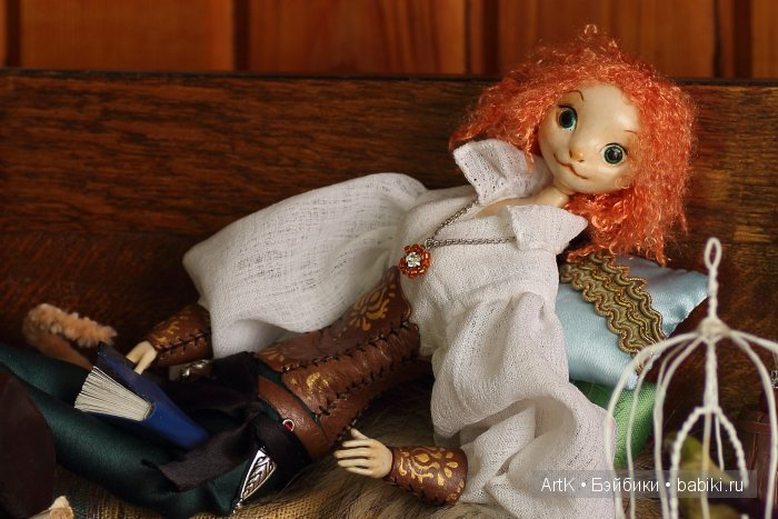 Авторская кукла ручной работы АртК