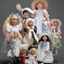 Образы литературных героев в куклах Хелены Киш. Часть 3