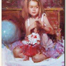 """Образы кукол в коллекции """"Известные художники"""" автор Хелена Киш. Часть 2"""
